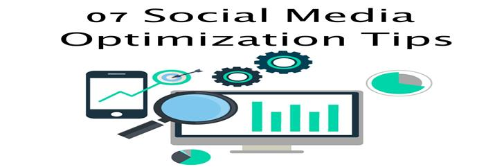7 Tips For Social Media Optimization  | Social Media Optimization Services