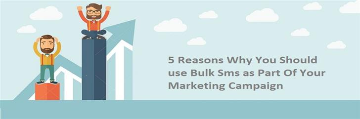 Best Reasons for Using Bulk SMS as a Marketing Campaign