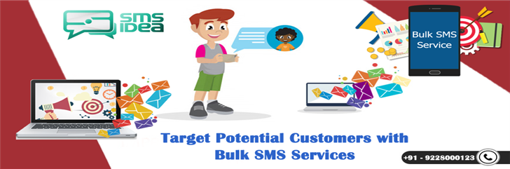 Target Potential Customers with Bulk SMS Services