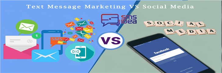 Text Message Marketing VS Social Media